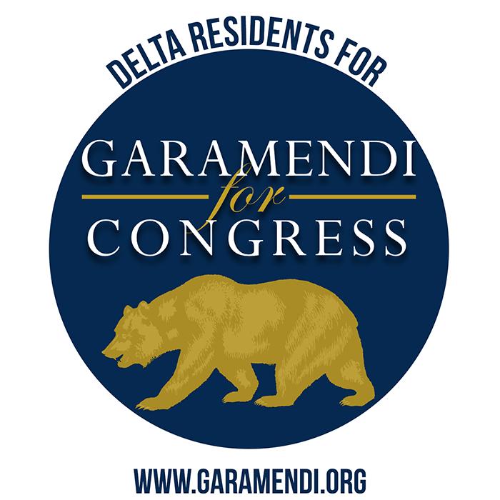 Delta Residents for Garamendi