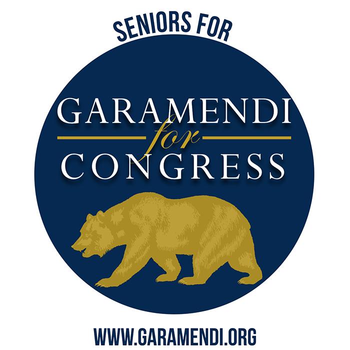 Seniors for Garamendi