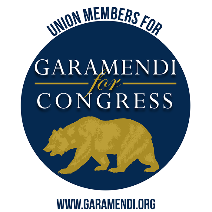 Union Members for Garamendi